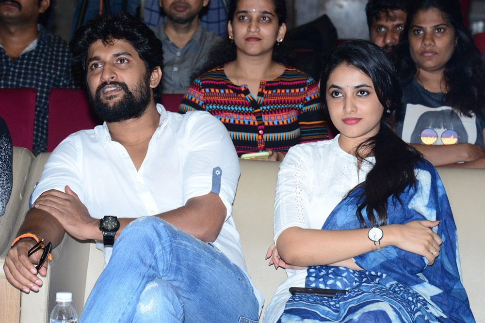 Nani, Priyanka Arul Mohan @ Gang Leader Movie Team Meet Photos