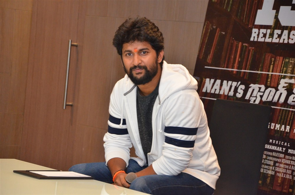 Gang Leader Nani Press Meet held at Vijayawada Photos
