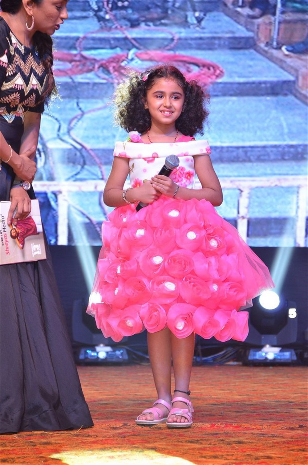 Baby Praanya @ Gang Leader Pre Release Function Photos