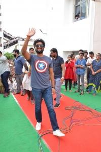 Nani's GangLeader Movie Promotion @ VVIT College Guntur