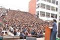Nani's Gang Leader Movie Team visits VVIT College Guntur