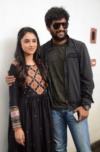 Priyanka Arul Mohan, Nani @ Gang Leader Thanks Meet Photos