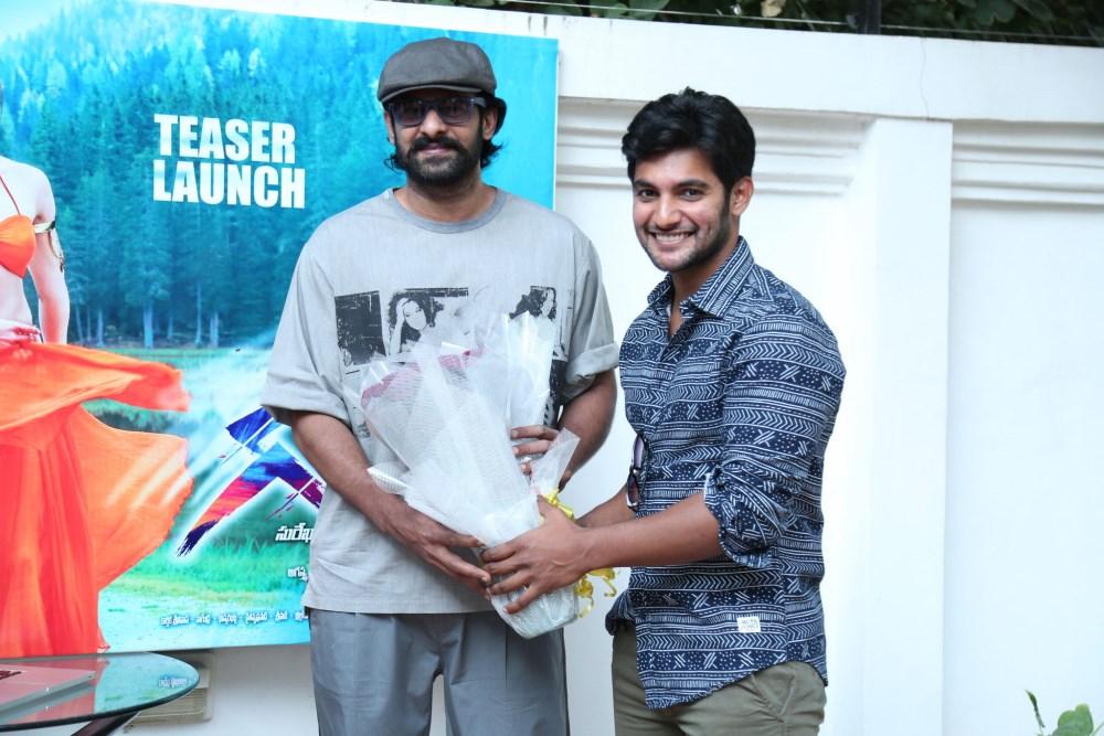 Prabhas, Aadi @ Garam Movie Teaser Launch Stills