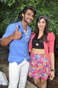 Aadi, Adah Sharma @ Garam Telugu Movie Launch Stills