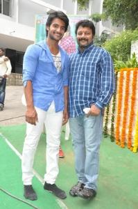 Aadi, Saikumar @ Garam Telugu Movie Launch Stills