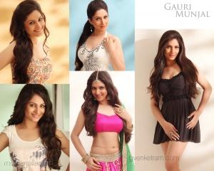 Tamil Actress Gauri Munjal Hot Photoshoot Wallpapers