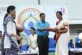 Actress Gautami Celebrates Yoga Day @ GITAM University Photos