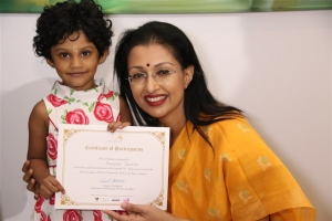 Actress Gouthami visits Ganesh 365 Art Exhibition Photos