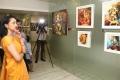 Actress Gautami visits Ganesh 365 Art Exhibition, Art Houz, Chennai