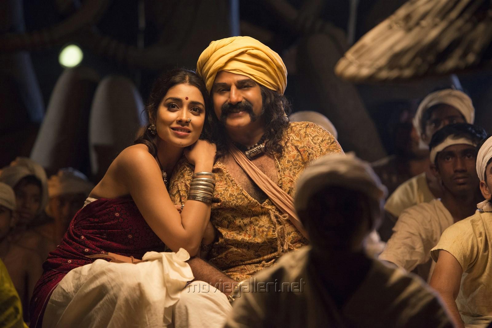Shriya Saran, Balakrishna in Gautamiputra Satakarni HD Stills