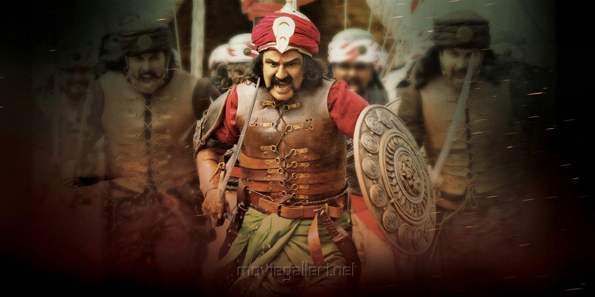 Actor Nandamuri Balakrishna in Gautamiputra Satakarni HD Stills