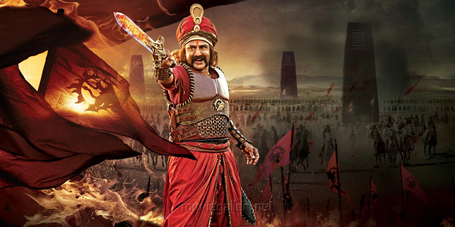 Actor Balakrishna in Gautamiputra Satakarni HD Stills