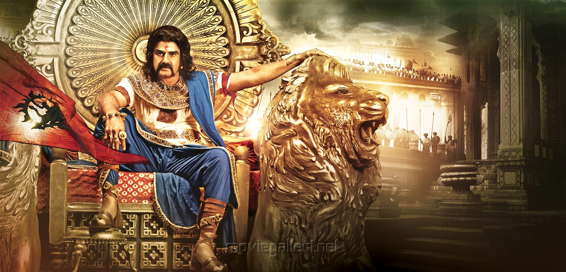 Actor Nandamuri Balakrishna in Gautamiputra Satakarni HD Stills