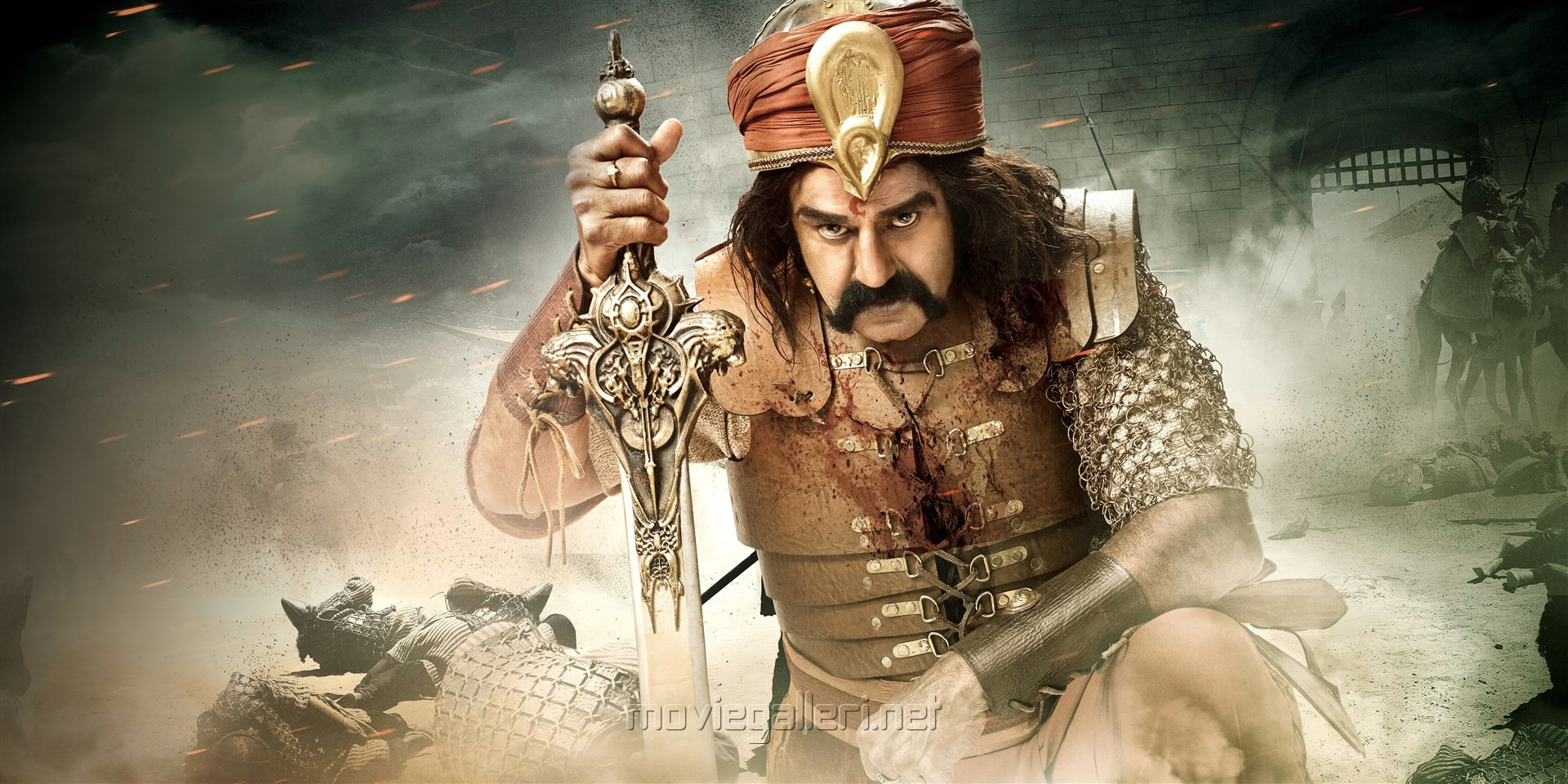 Nandamuri Balakrishna as Gautamiputra Satakarni Movie HD Stills