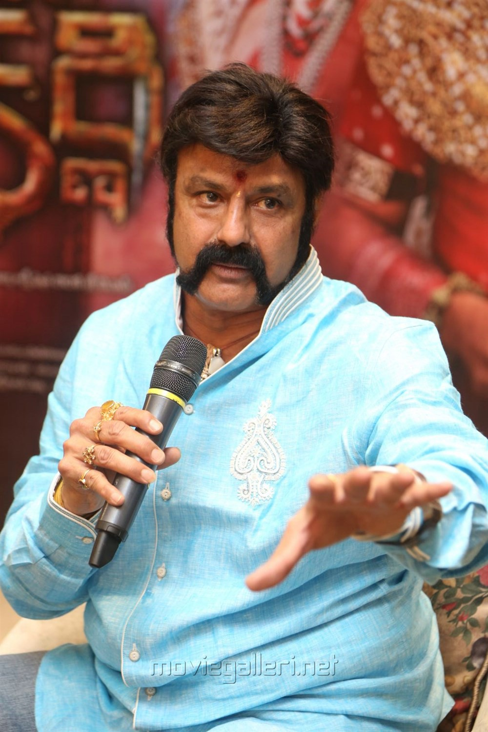 Actor Nandamuri Balakrishna @ Gautamiputra Satakarni Press Meet Stills