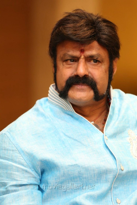 Actor Nandamuri Balakrishna @ Gautamiputra Satakarni Press Meet Stills