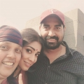 Brindha, Shriya, Krish @ Gautamiputra Satakarni Shooting Spot Stills