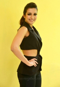 Gautham Nanda Actress Catherine Tresa Hot Black Dress Photos