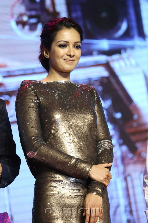 Actress Catherine Tresa @ Gautham Nanda Audio Release Photos