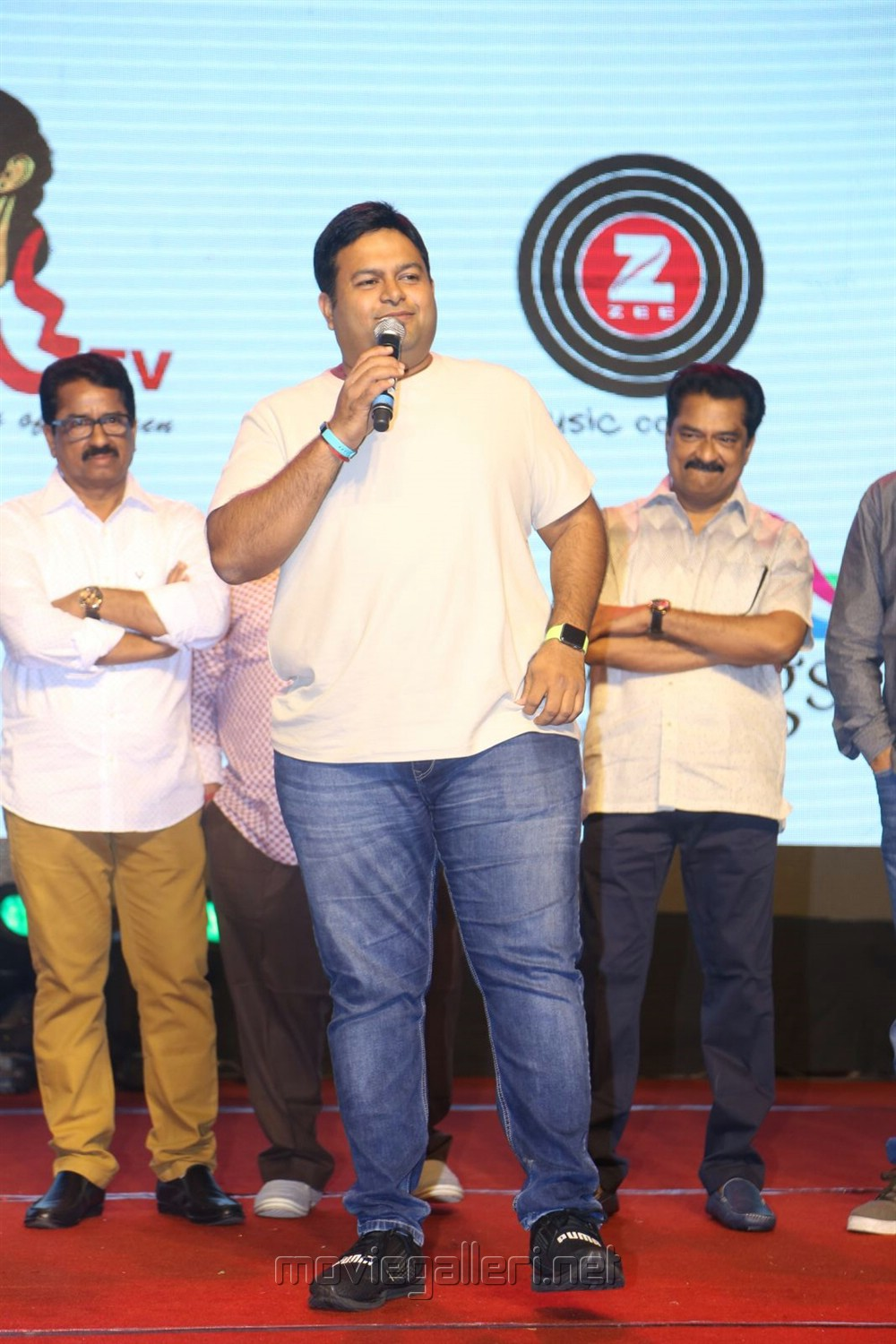 Music Director SS Thaman @ Gautham Nanda Audio Release Photos