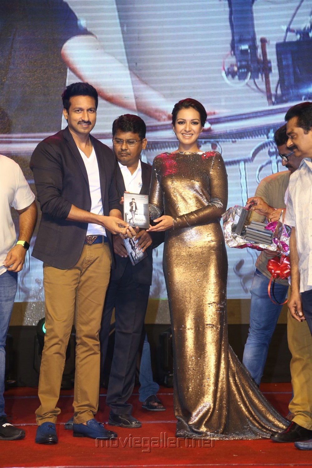 Gopichand, Catherine Tresa @ Gautham Nanda Audio Release Photos