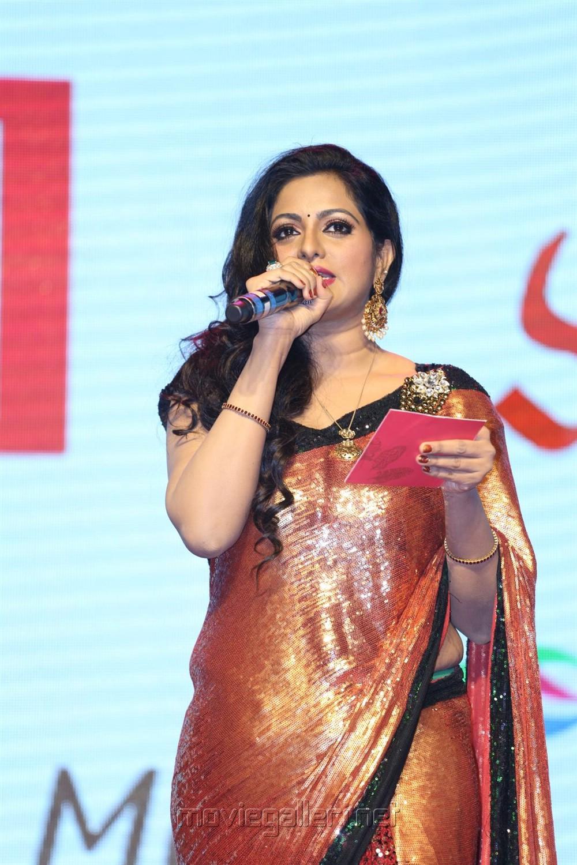 Anchor Udaya Bhanu @ Gautham Nanda Audio Release Photos
