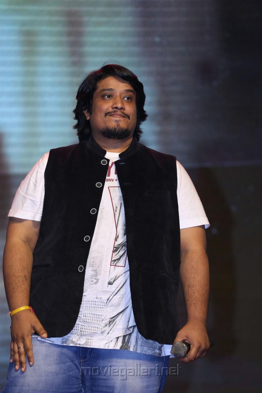 Singer Divya Kumar @ Gautham Nanda Audio Release Photos