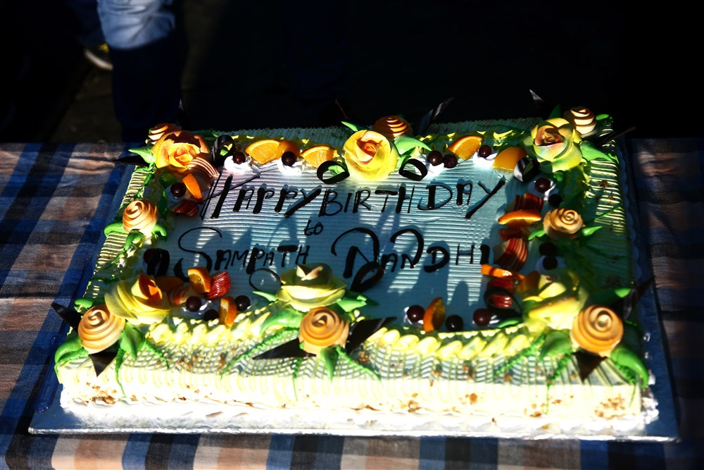 Gautham Nanda Team Celebrates Sampath Nandi Birthday Photos