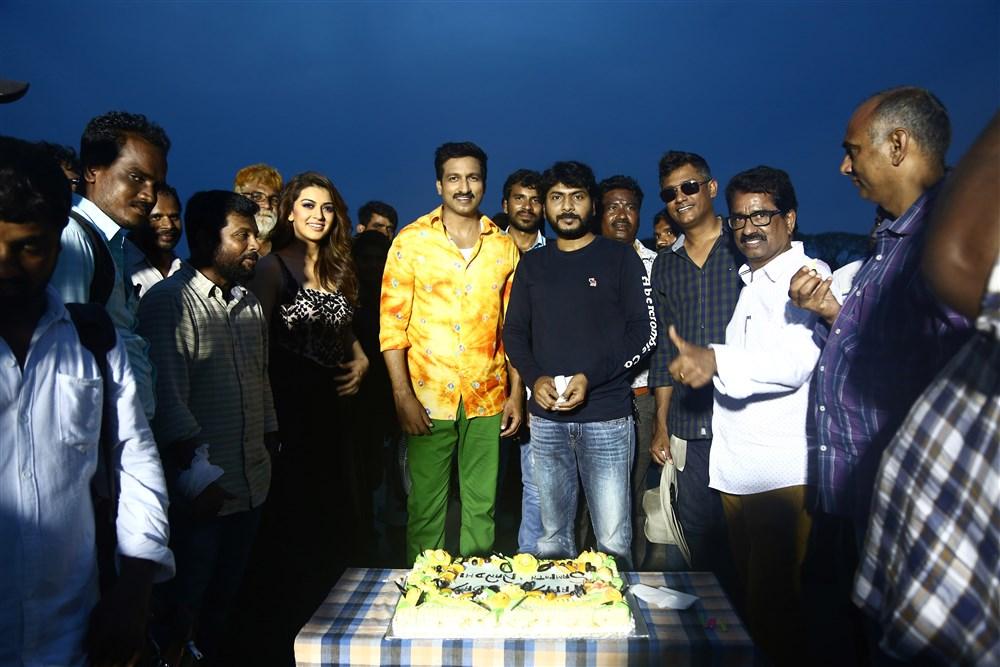 Gautham Nanda Team Celebrates Sampath Nandi Birthday Photos