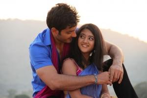 Ali Raza, Shriya Sharma in Gayakudu Movie Stills