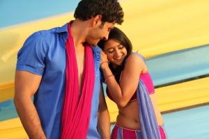 Ali Raza, Shriya Sharma in Gayakudu Telugu Movie Stills