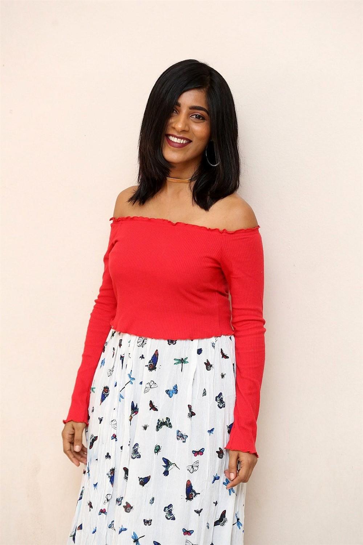 Actress Gayathri Gupta Latest Pics @ Burra Katha Teaser Launch