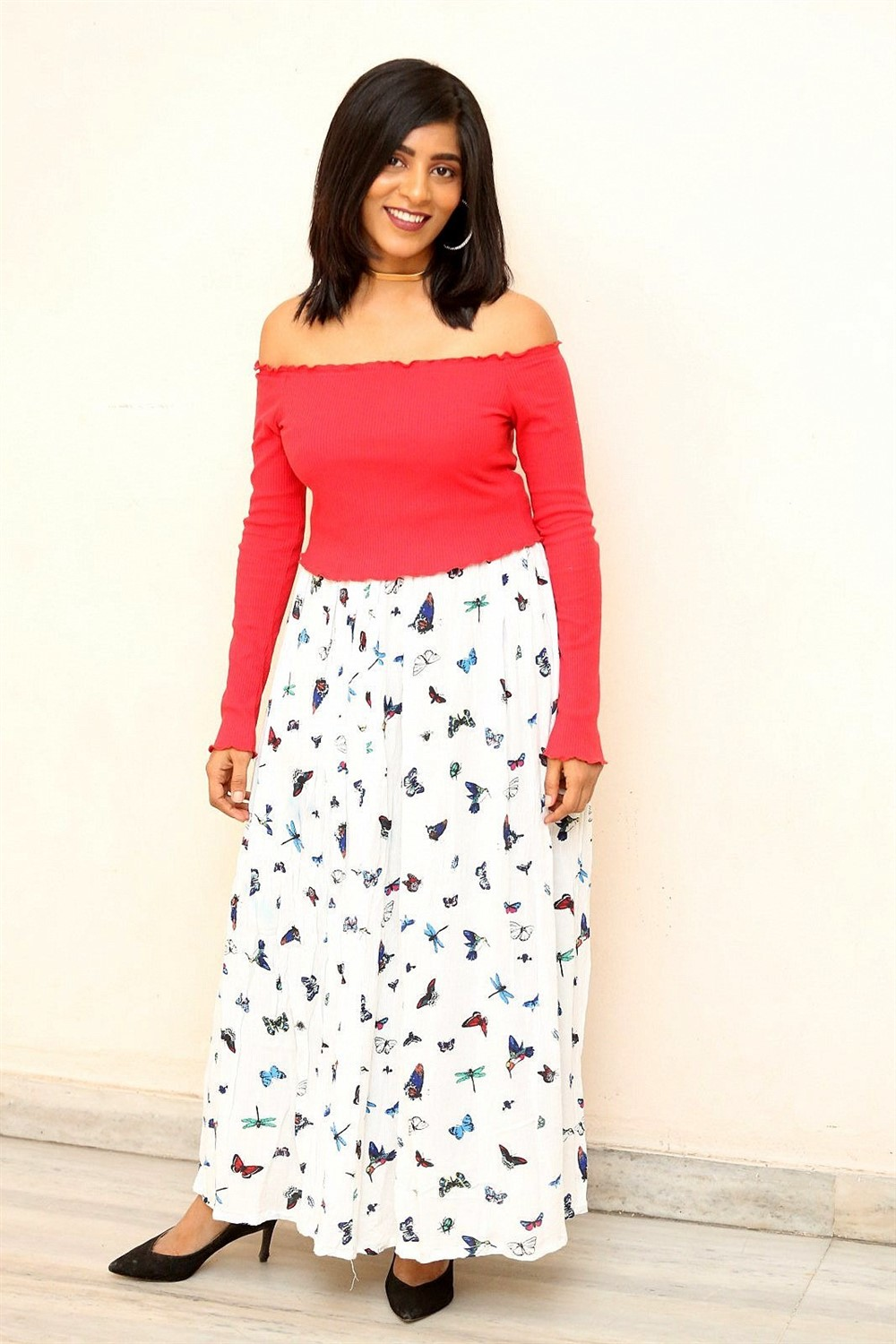 Actress Gayathri Gupta Pics @ Burra Katha Movie Teaser Launch