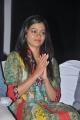 Actress Gayathri Photos in Churidar at Mathapoo Movie Audio Release