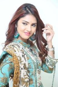Actress Gayathri Suresh Photos @ Nenu Leni Naa Prema Katha Movie Trailer Launch