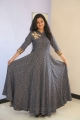 Actress Gayathri Shankar Long Dress Photos