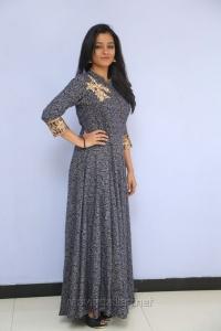 Actress Gayathri Shankar in Long Dress Images