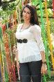 Gayatrhi Iyer in White Top and Black Jeans