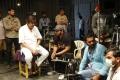 Mohan Babu, Manchu Manoj Kumar @ Gayatri Movie Working Stills
