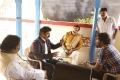 Balakrishna, Y. Kasi Viswanath, Vishnu Manchu @ Gayatri Movie Working Stills