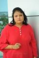 Telugu Comedy Actress Geeta Singh Photo Gallery in Red Dress