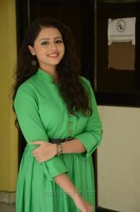 Mixture Potlam Actress Geetanjali Photos in Green Dress