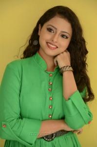 Actress Geetanjali in Green Dress Photos