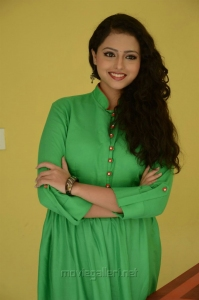 Actress Geetanjali Photos in Green Dress