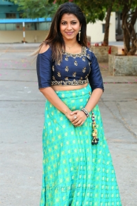 Actress Geetanjali New Stills @ Weaves of India Expo April 2018 Exhibition Launch