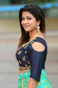 Actress Geetanjali Thasya New Stills @ Weaves of India Expo 2018 Launch