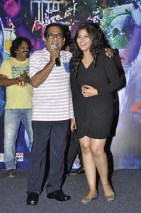 Brahmanandam, Anjali @ Geethanjali Movie Press Meet Stills