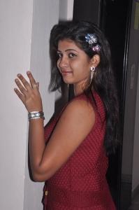 Telugu Actress Geethanjali Thasya Hot Pics in Red Dress