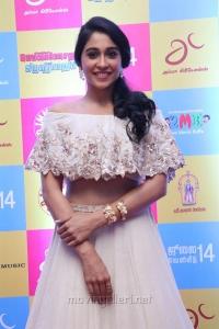 Actress Regina Cassandra @ Gemini Ganeshanum Suruli Raajanum Audio Release Stills