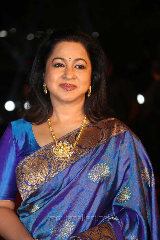 Actress Radhika @ Gemini TV Puraskaralu 2016 Red Carpet Stills